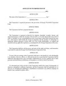 articles of organization template best photos of amended articles of organization