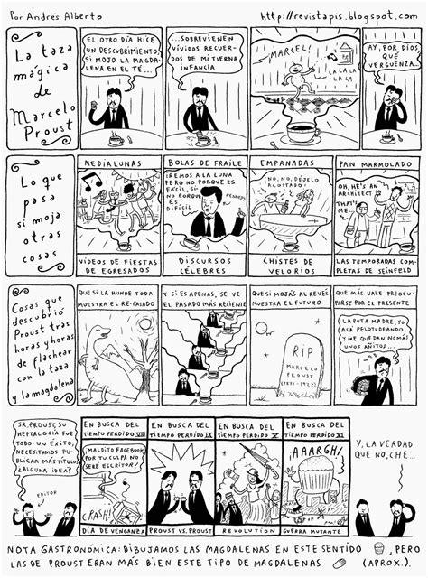 revista pis: Proust o En busca del tiempo perdido (la