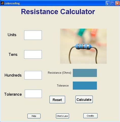 gui for resistance calculations file exchange matlab central