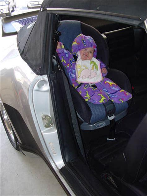 porsche 911 baby seat finally found a child seat that fits pelican parts