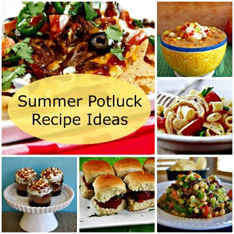 recipe ideas potluck recipe ideas