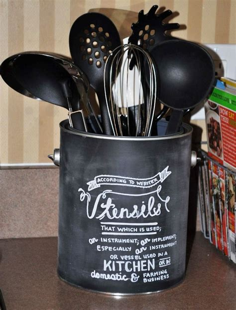 17 best ideas about kitchen utensil holder on