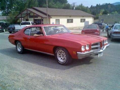 Pontiac Lamans by 1972 Pontiac Lemans For Sale