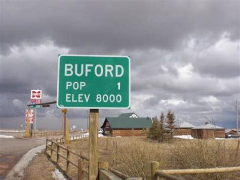smallest city in us buford wyoming up for auction boing boing