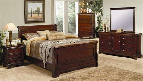 bedroom sets for less coaster versailles sleigh bedroom set 201481 bed set at homelement com