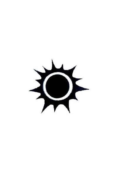 black sun tattoo best 25 black sun ideas on