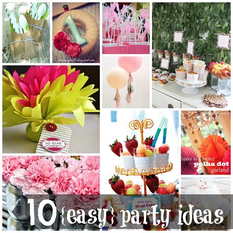 party themes easy 10 easy party ideas