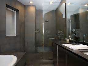 Gray tile bathroom design home decoration live