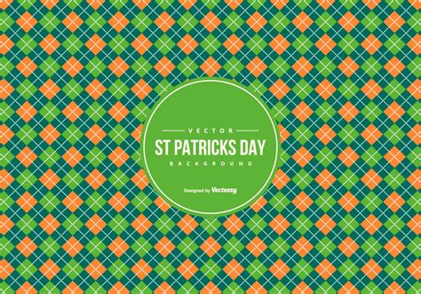 what was the original color of st day argyle pattern background in st day colors