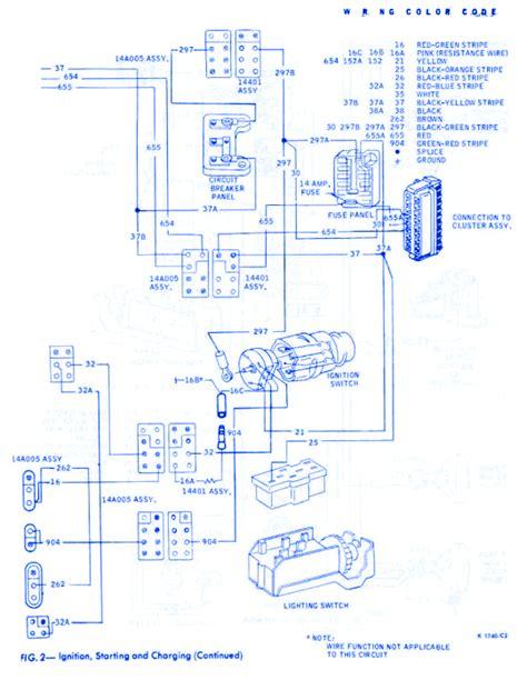 ford thunderbird general  electrical circuit wiring diagram carfusebox