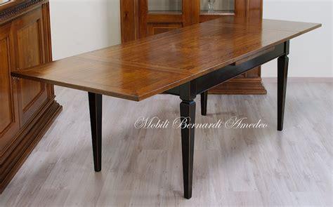 tavolo allungabile noce tavoli in noce allungabili 3 tavoli