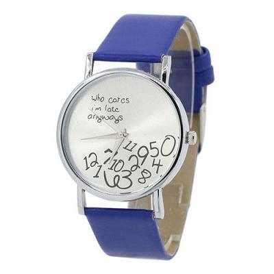 Jam Tangan Wanita Merk Geneva Numerals Faux Leather Cewe harga norate jam tangan wanita who cares arabic numerals letters printed wrist mint