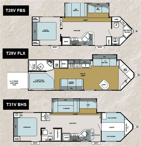 forest river floor plans flagstaff shamrock travel trailers by forest river rv