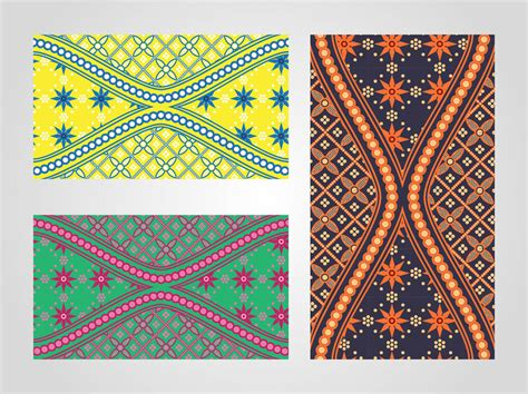 batik pattern illustrator free batik patterns vector art graphics freevector com