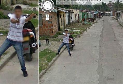 imagenes google street view curiosas las im 225 genes m 225 s curiosas con las que colombia se estrena