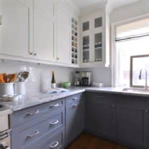 two colored kitchen cabinets two color cabinets kitchen cabinets pinterest