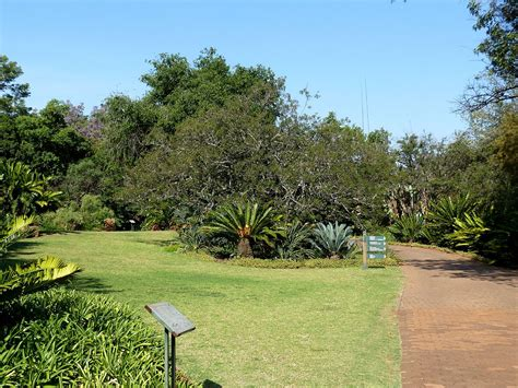 types of botanical gardens pretoria national botanical garden