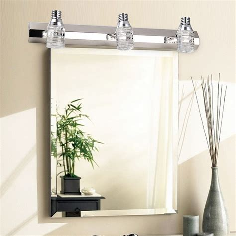 Bathroom Light Fixture Mirror Farmlandcanada Info 3 Light Wall Sconce Bathroom Mirror Light Fixture Chrome Chandelier L Ebay