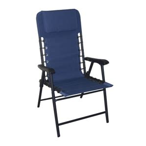 bungee chair home hardware instyle outdoor vintage indigo blue folding bungee chair