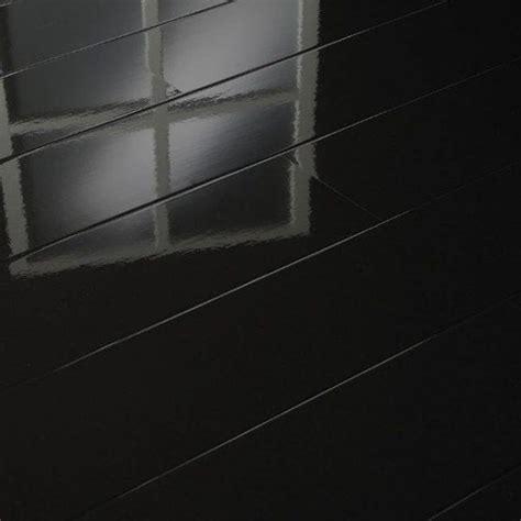 black high gloss shiny laminate wood flooring packs