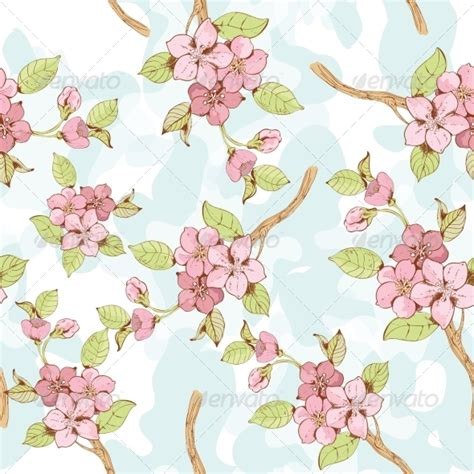 wallpaper bunga pattern wallpaper bunga sakura pink 187 tinkytyler org stock