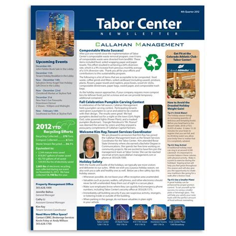 table layout newsletter pin by cped publications on 00842 da community online nl