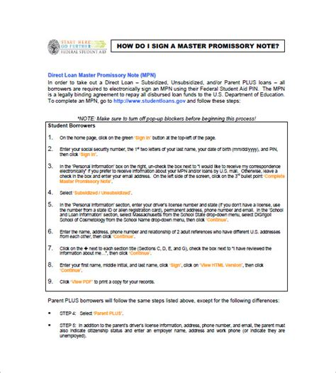 Master Promissory Note 8 Free Word Excel Pdf Format Download Free Premium Templates Master Promissory Note Template