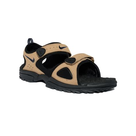 nike sandals lyst nike santiam ii sport sandal in brown for