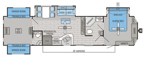 2 bedroom 5th wheel floor plans pinnacle fifth wheels inc also 2 bedroom 5th wheel floor