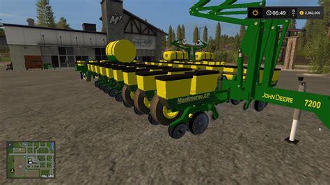 Deere Seed Planter by Deere 24 Row Seeder V1 0 Fs17 Farming Simulator 17