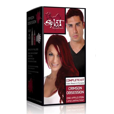 crimson obsession on dark brown hair splat hair dye reviews tutorials and insider tips