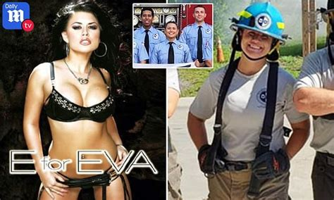 porn star eva angelina   firefighter