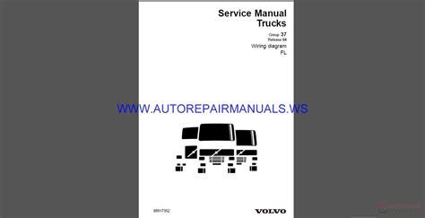 volvo trucks fl wiring diagram service manual auto repair manual forum heavy equipment