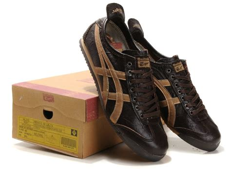 Promo Awal Tahun Asics Mexico 66 Brown Gold s onitsuka tiger lauta shoes mexico 66 new brown gold hl202 9153 onitsuka tiger