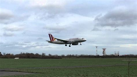 aborted dublin german wings aborted landing at dublin youtube