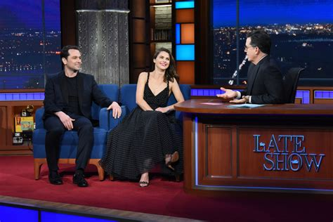 matthew rhys colbert keri russell matthew rhys appeared on quot the late show with