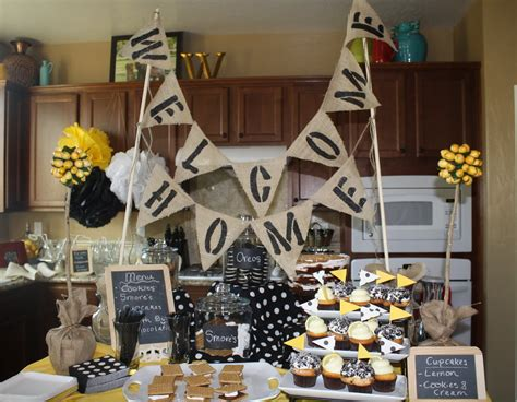 welcome home baby party decorations great ideas parties 2