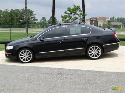 2007 black volkswagen passat deep black 2007 volkswagen passat 2 0t sedan exterior