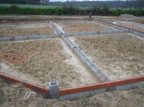 Chainage Ferraille Fondations Autoconstruction