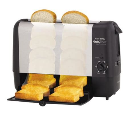 Toaster Tray Focus 78222 Vertical Toaster W 2 Slice Tray Bagel