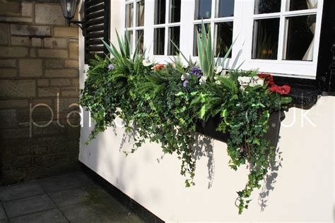 large window box artificial plant window boxes large jpg