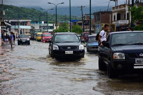 Imagenes Fuertes Ecuador | fuertes lluvias provocan inundaciones en varios cantones