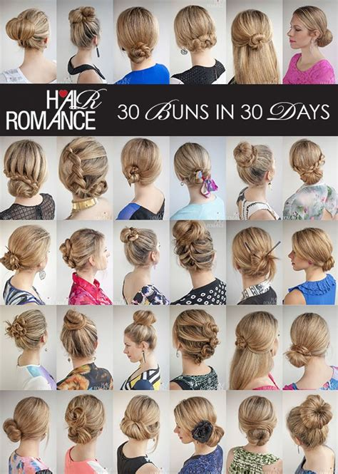 Hairstyle Books 2016 Book by Hairromance Released A New Hairstyle Ebook 30 Buns In 30