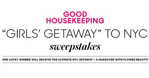 Good Housekeeping Sweepstakes - good housekeeping nyc beauty girls getaway sweepstakes goodhousekeeping com nycbeauty