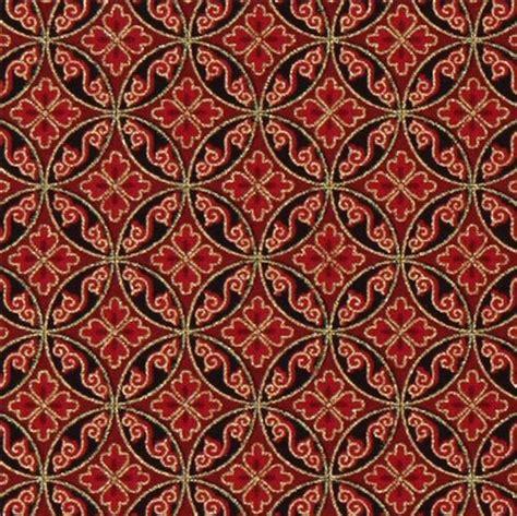 Orientalische Stoffe by Roter Orientalischer Stoff Gold Muster Robert Kaufman
