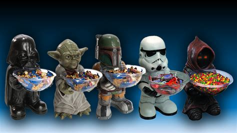 five new star wars candy holders mightymega