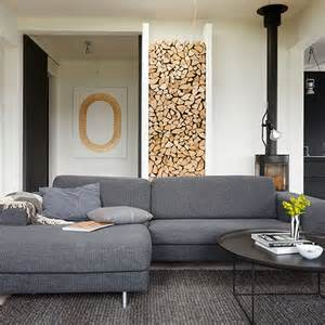 Grey Sofas In Living Room Modern Living Room With Grey Sofas Decorating Housetohome Co Uk