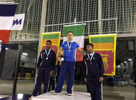 dati maresciallo carabinieri open paralimpici militari di nuoto seconda medaglia per l
