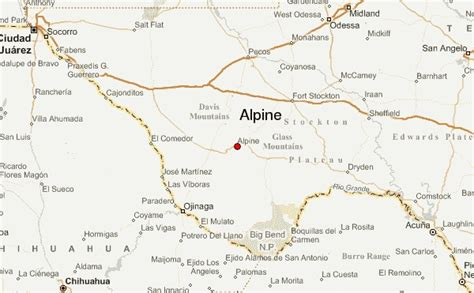 alpine texas map alpine texas location guide