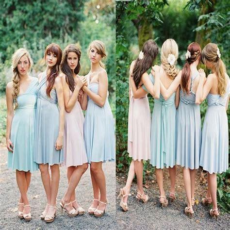 pastel color bridesmaid dresses best 25 junior bridesmaid hairstyles ideas on